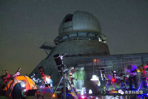 大型公益天文观月活动